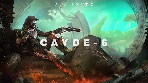 Destiny 2 conoce a Cayde-6 MX