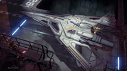 Starship in Hangar