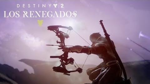 Destiny 2 - Presentación oficial de Los Renegados ES