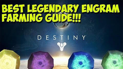 """Destiny - """"BEST LEGENDARY ENGRAM FARMING GUIDE"""" """"Destiny Skywatch Engram Farming Location"""""""