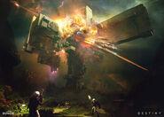 Vex Citadel Destroyed Concept Art
