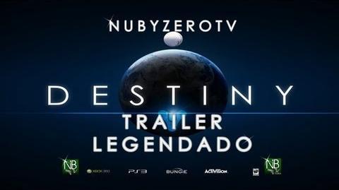 Destiny Gameplay PS4 Official Commented Trailer Legendado (PT-BR)