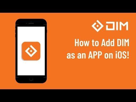 Add_DIM_as_an_App_in_iOS