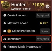 Screenshot of Randomize feature.png