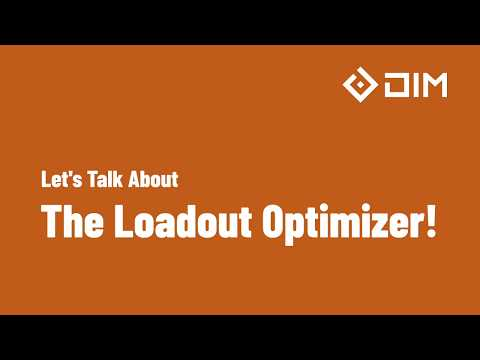Loadout Optimizer