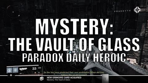 """Destiny - New Dead Ghost """"Mystery The Vault of Glass"""""""
