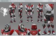 Destiny 2 Titan Parade Armor Character Sheet