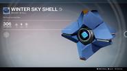 Winter Sky Shell UI