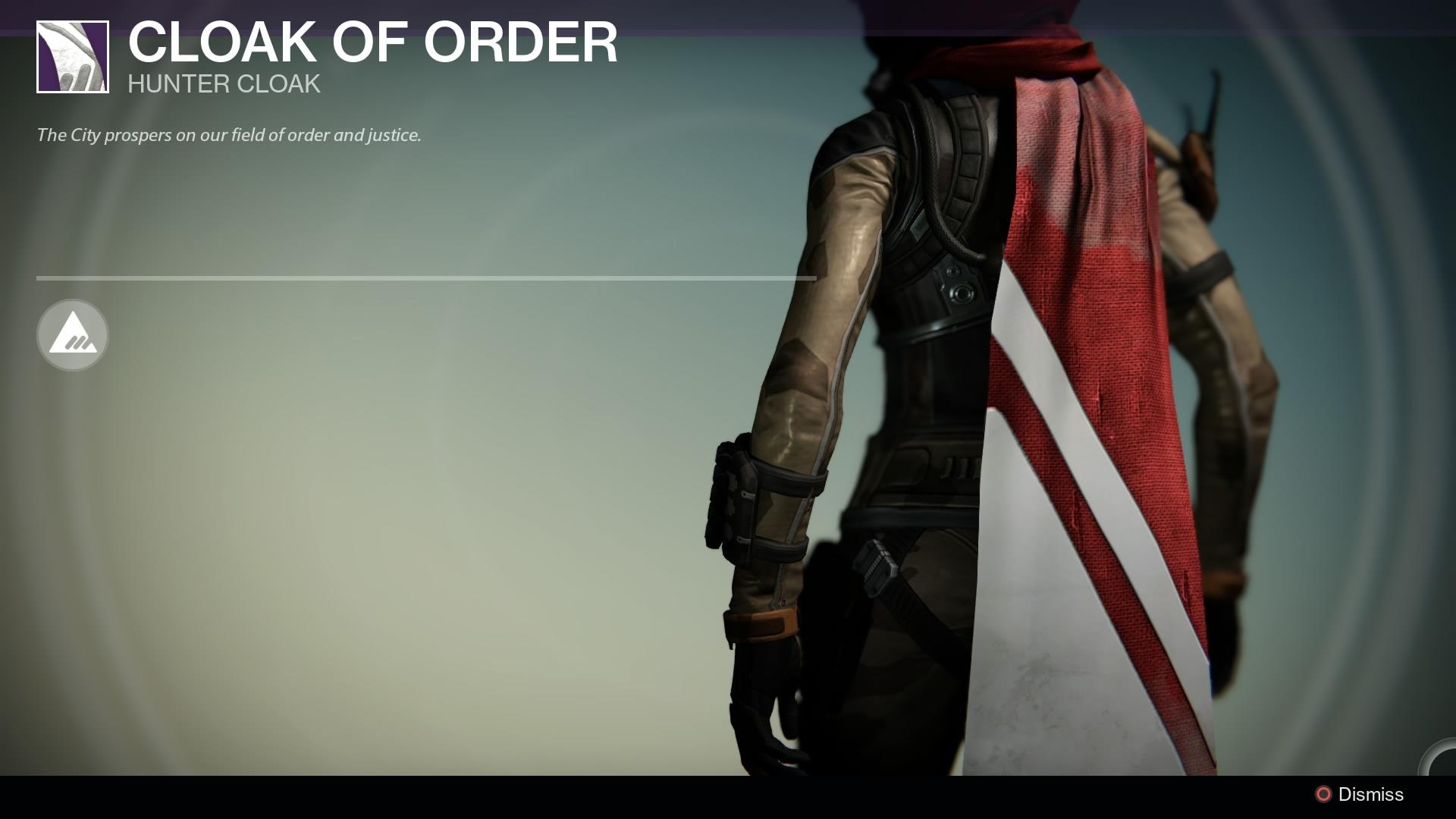 Cloak of Order