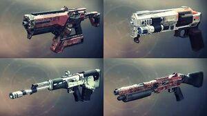 Destiny 2 Weapons Showcase - All EDZ Legendaries w Slow Motion (Animations & Sounds)