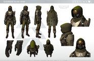 Destiny Hunter 2 Character Sheet