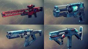 Destiny 2 Weapons Showcase - All Nessus Legendaries w Slow Motion (Animations & Sounds)