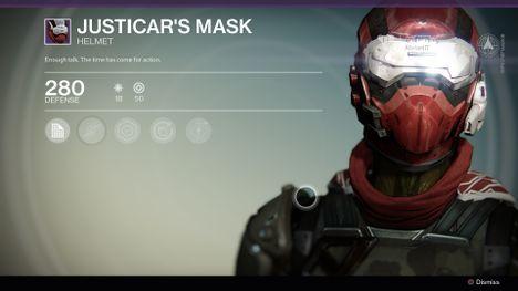 Justicar's Mask