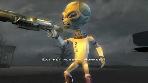 Destroy all Humans! PS4 - Armquist vs The Furons mission