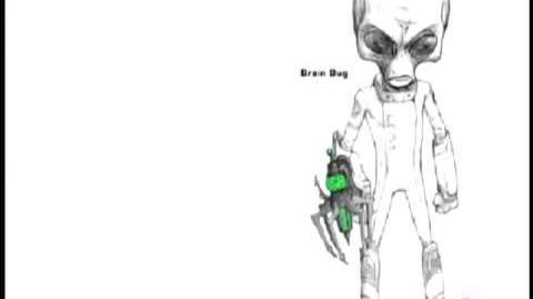 Evolution of an alien