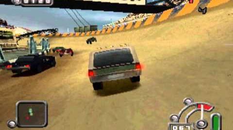 Destruction Derby Raw - Rockstar gameplay