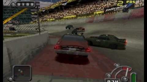 Destruction Derby Raw - Scorpion gameplay