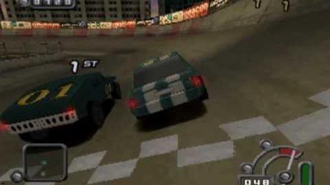 Destruction Derby Raw - Thunderhawk gameplay