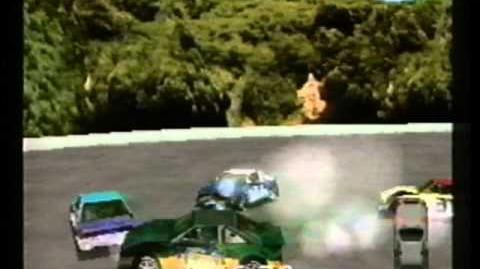 Destruction Derby Playstation commercial (US)