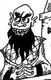 Homem com barba mas sem cabelo