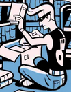 Dashiell Qwerty na Biblioteca