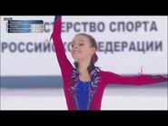 Анна Щербакова Чемпионат России ПП