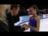 Anna Shcherbakova Skate America in Grand Prix 2019 (NBCCN)