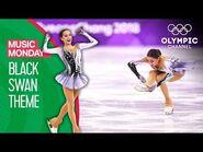 Alina Zagitova at PyeongChang 2018 - Black Swan - Music Monday