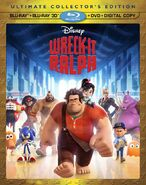 Cover Wreck-It Ralph Blu-ray 3D