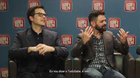 Wifi Ralph - Vídeo personagem favorito dos diretores