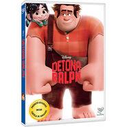 DVD Detona Ralph+Cartela de Adesivos