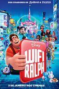 WiFi Ralph - Pôster Nacional 02