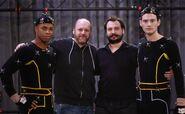 Cornelius Smith Jr., David Cage, Benjamin Diebling and Bryan Dechart