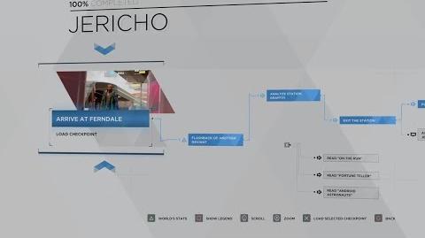 14 - MARKUS - JERICHO 100% FLOWCHART - DETROIT BECOME HUMAN