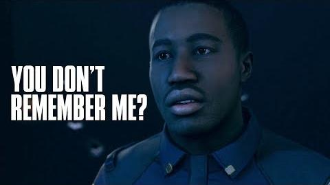 Cop Thanks Conner For Saving Him But Conner Doesn't Remember - Detroit Become Human