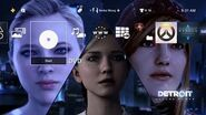 Detroit Become Human Character Dynamic Theme PS4