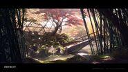 Zen garden artwork