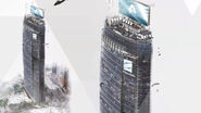 Stratford Tower design artwork