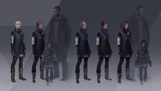 Kara, Luther and Alice Character Artwork