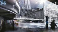 Detroit city, concept art
