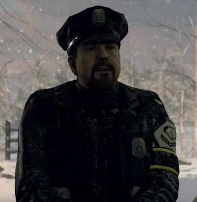 Офицер полиции 0617