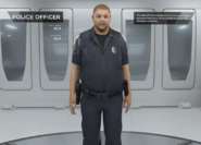 Police officer extras gallery male fat brown