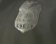 Detroit Badge DBH