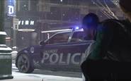 Capitol Park Police Car