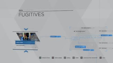 10 - KARA - FUGITIVES 100% FLOWCHART - DETROIT BECOME HUMAN