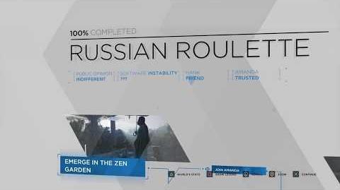 Detroit Become Human Russian Roulette 100% Flowchart