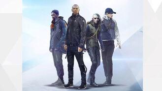 Markus, North, Josh and Simon Artwork
