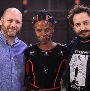 David Cage, Simbi Khali and Benjamin Diebling