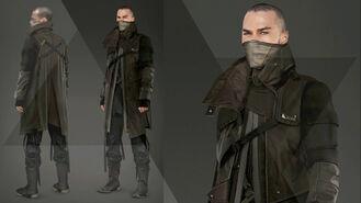 Markus dark color outfit Artwork