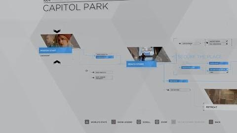 26 - MARKUS - CAPITOL PARK 100% FLOWCHART - DETROIT BECOME HUMAN